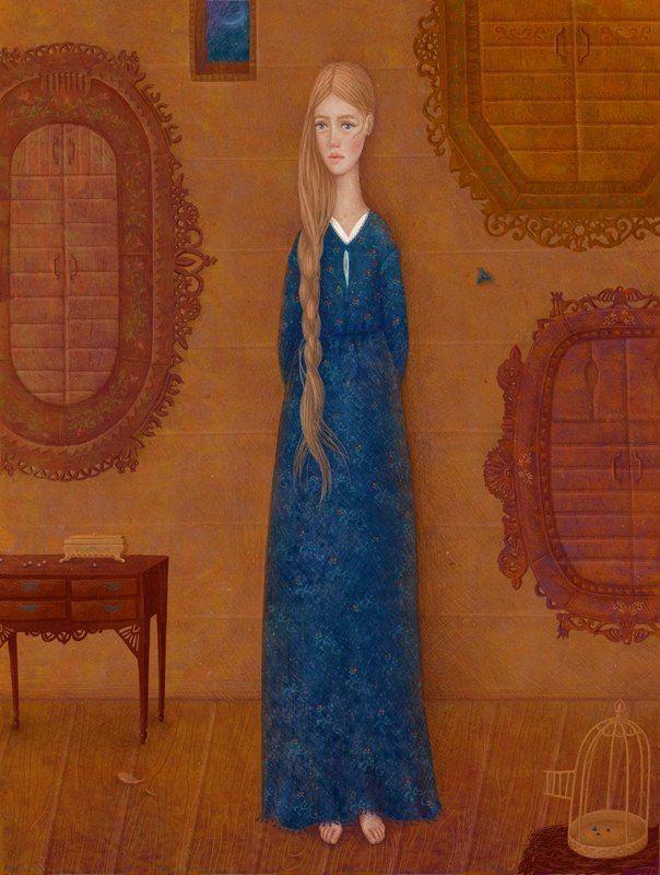 Галя Зинько. Потрясающая художница, создающая сказочные миры ...