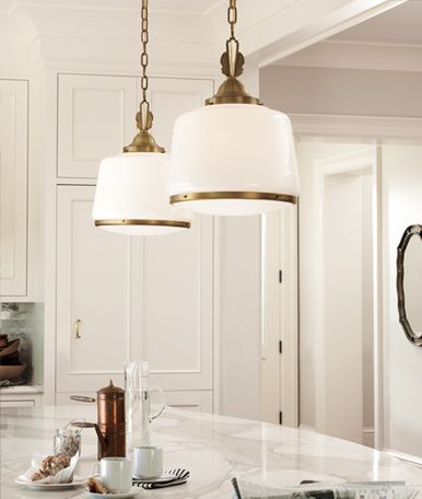 Brass Schoolhouse Pendants School House Lighting Schoolhouse Pendant Lights Kitchen Pendant Lighting