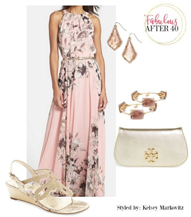 Gorgeous Ideas For What To Wear A Garden Wedding Are Maxi Dresses