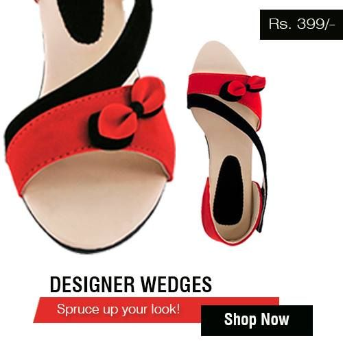 Designer wedges offered by shopit4me. Check it out now : http://www.shopit4me.com/