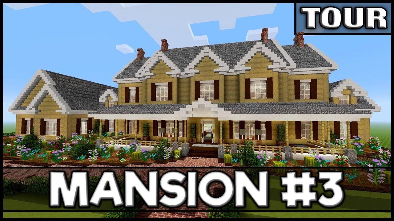 Minecraft  Mansion Tour  2