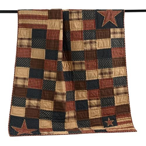 Fab Americana quilt from Olde Glory American country store in the