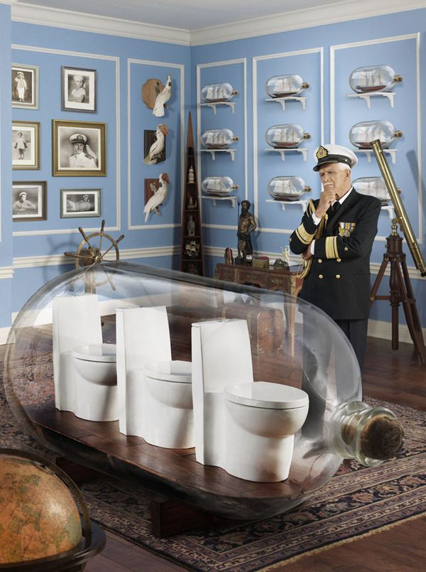 The Bold Look of Kohler Advertising photography, Toilet