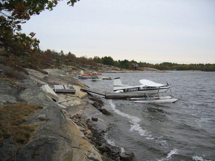 2 180's at Badger's in Georgian Bay