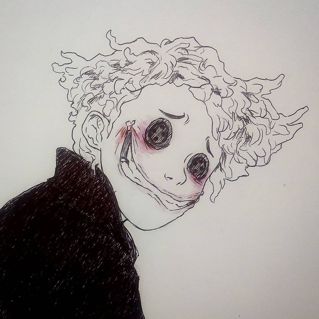 6 Smile Goretober2018 Goretober Coraline Inktober Inktober2018 Art Fanart Drawing Dibujo Horror Art Dark Art Drawings Art Sketches