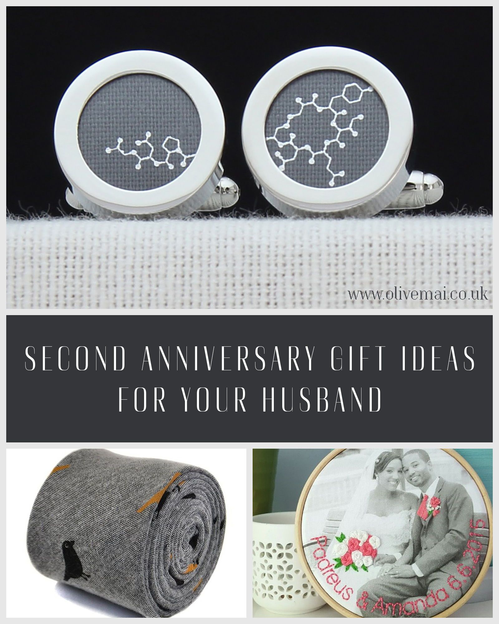 2nd Wedding Anniversary Gifts For Men: Second Anniversary Gift Ideas For Your Husband