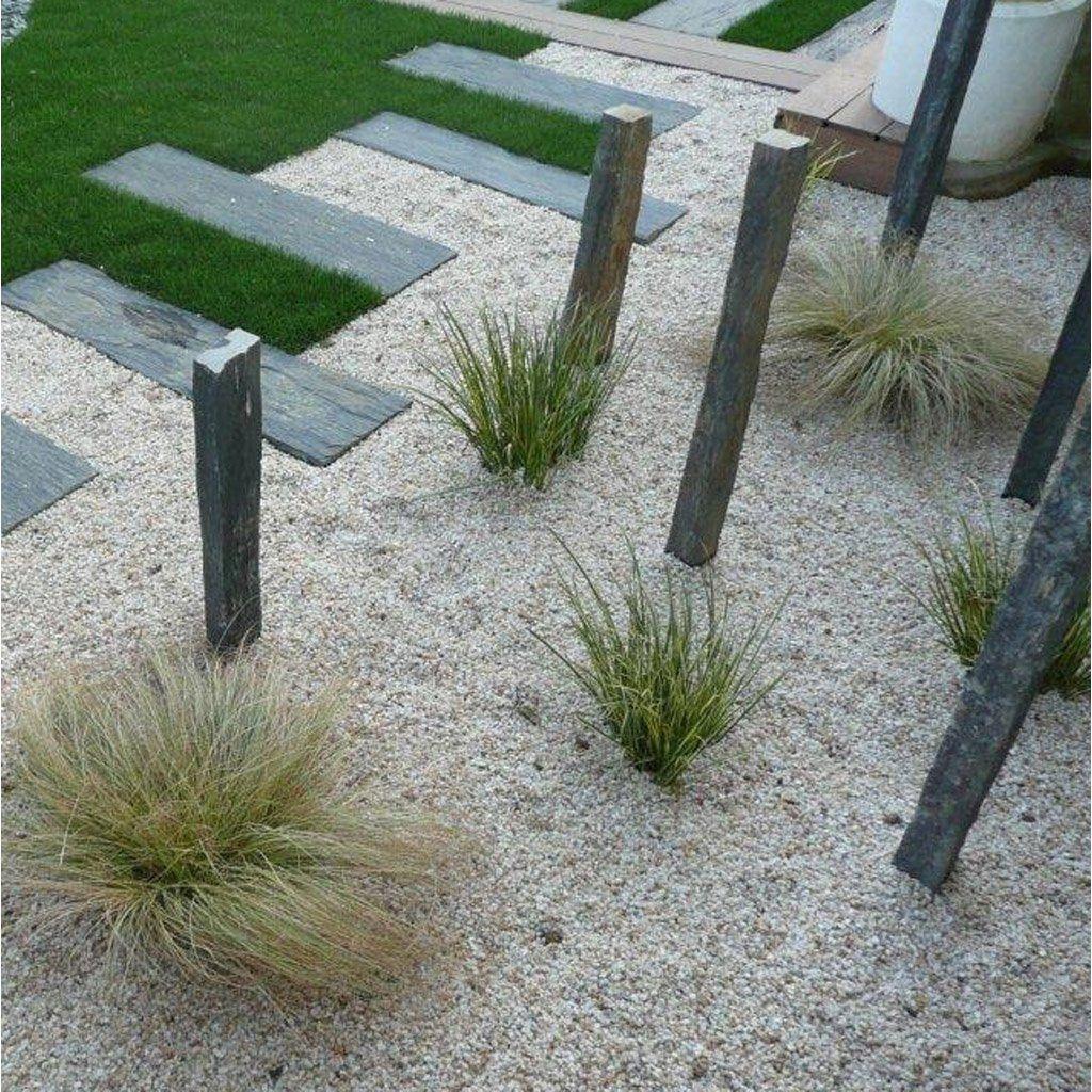 Piquets En Ardoise Idees Jardin Bordure Jardin Amenagement Jardin