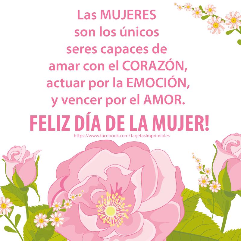 Feliz Día De La Mujer 8 De Marzo Día Internacional De La Mujer
