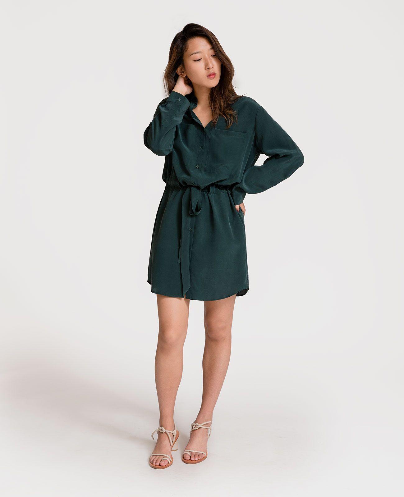 17+ Silk shirt dress info