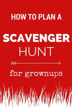 not just for kids how to plan an adult scavengerhunt camping pinterest. Black Bedroom Furniture Sets. Home Design Ideas