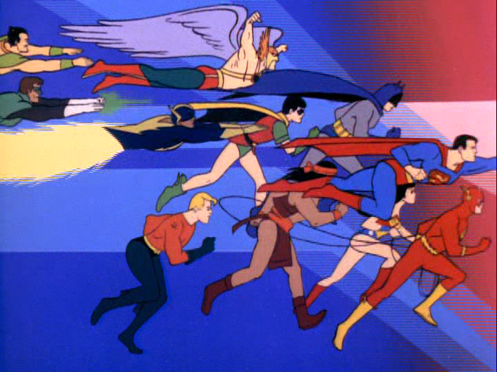 challenge of the superfriends 1978 title sequence the
