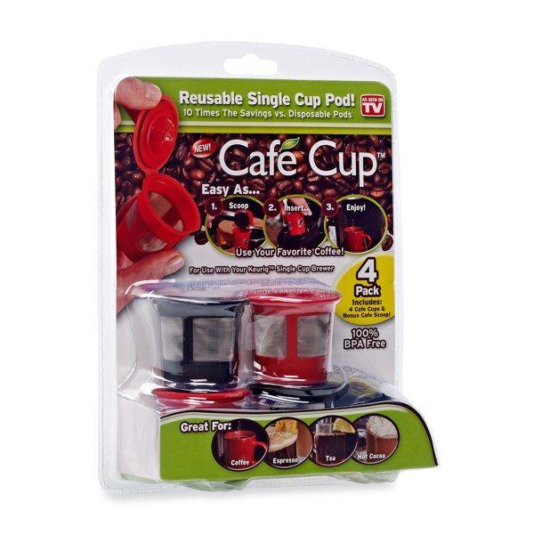 Cafe Cup™ Reusable Single Cup Pod