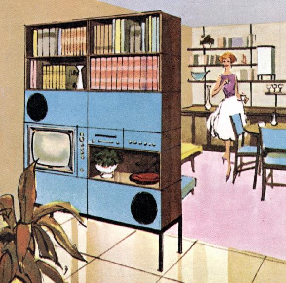 Perception Modules, Electrohome 1961