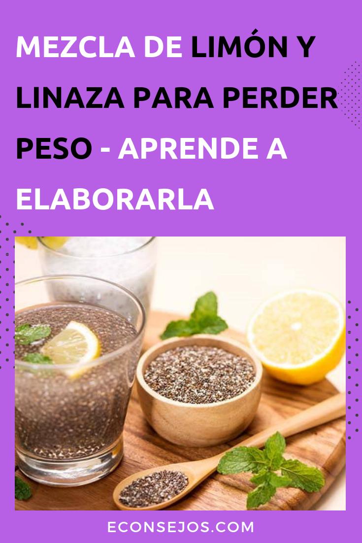 linaza pina y limon para adelgazar