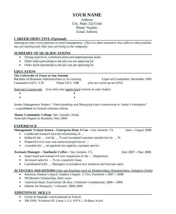 Cool Uta Resume Template Picture Resume Template For