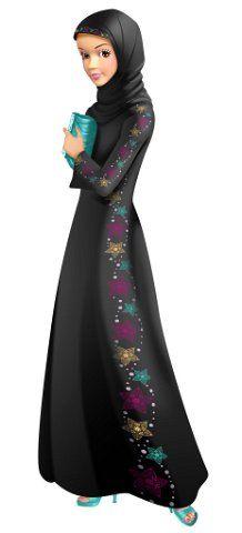 Fulla Doll Muslim Doll Muslim Barbie Doll Hijabi Doll Islamic Doll Girl Eid Gift