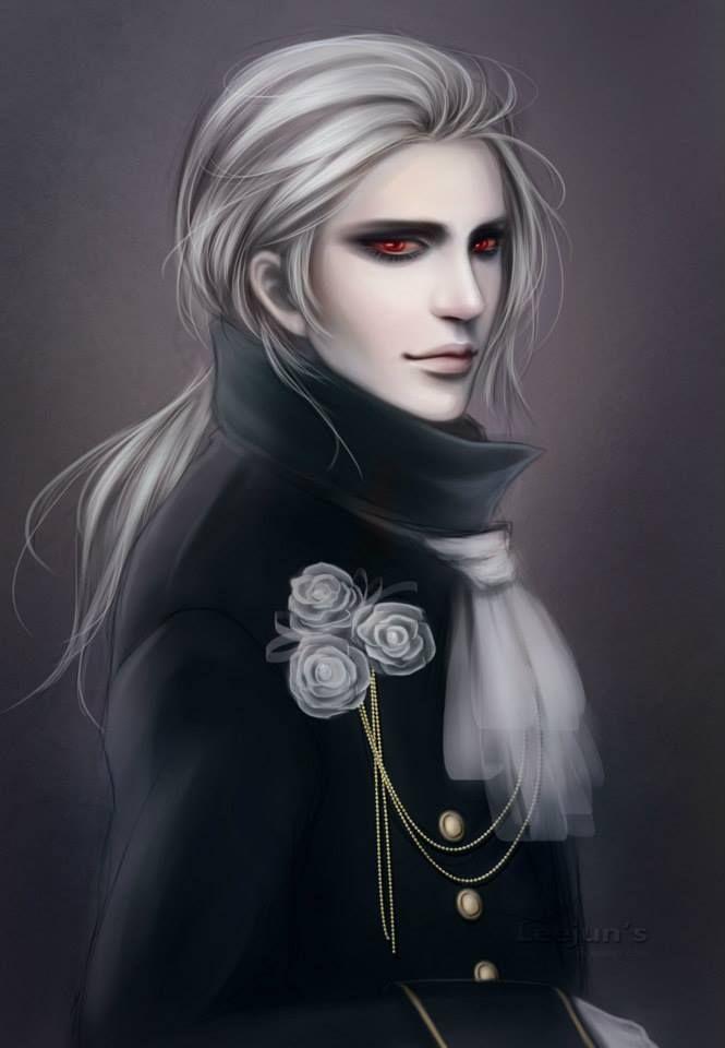 Male Vampire Art Gothic By