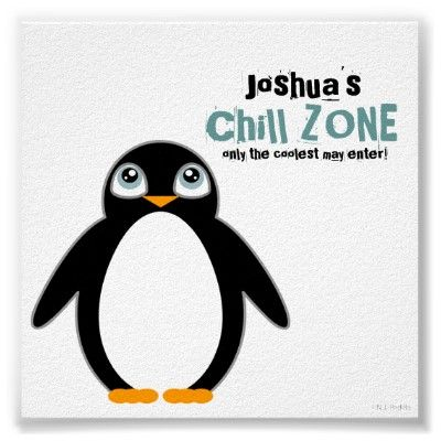 Personalized Penguin Poster - Must get this for Nicky's room.