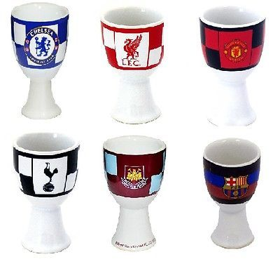Official football club - #check #ceramic egg cup #breakfast - new gift xmas ,  View more on the LINK: 	http://www.zeppy.io/product/gb/2/390682821860/