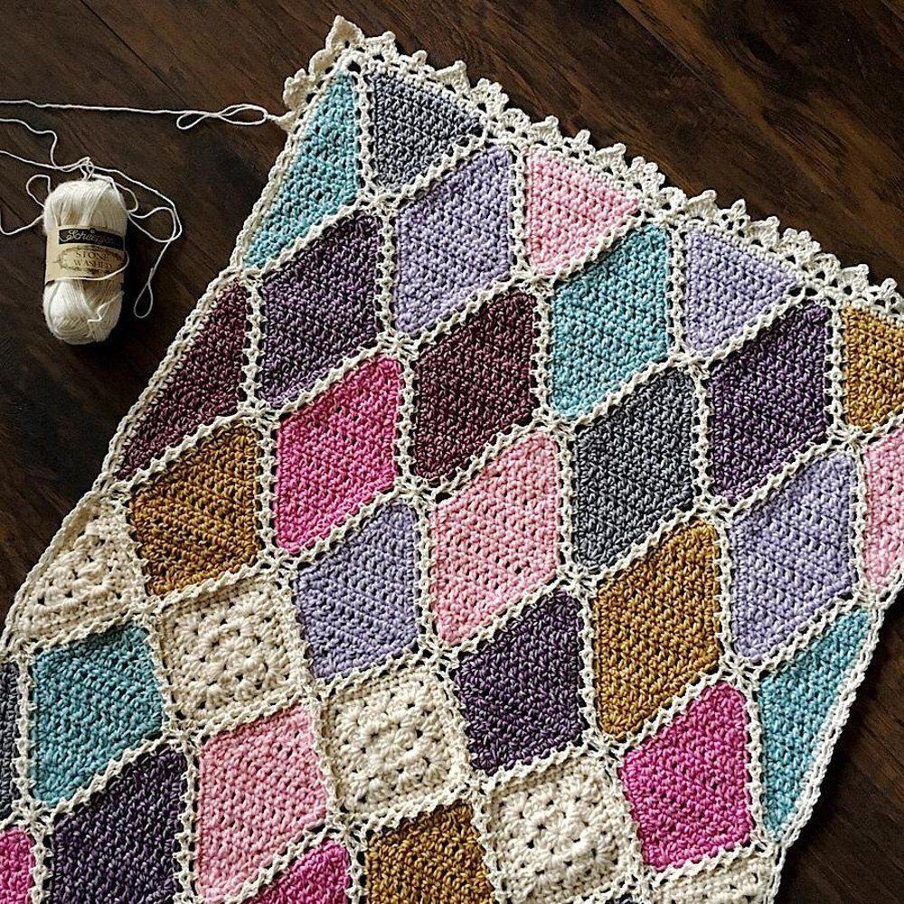 Gemma Blanket   Afghan Crochet Patterns   Pinterest