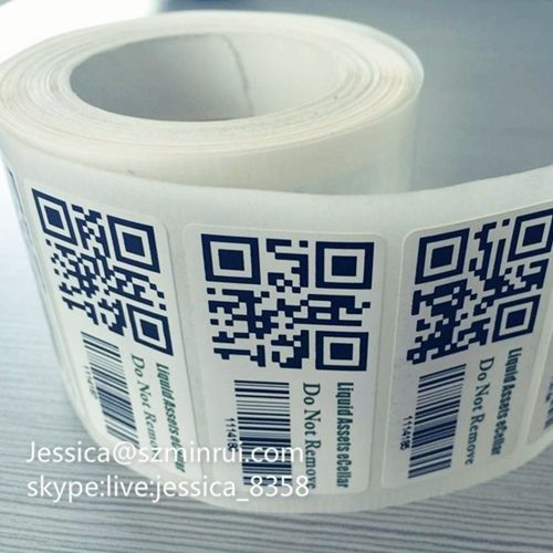 Factory Supply Qr Code Anti Counterfeiting Sticker Printing Qr Code Label Paper Adhesive Sticker Qr Code Label From C Print Stickers Label Paper Adhesive Paper
