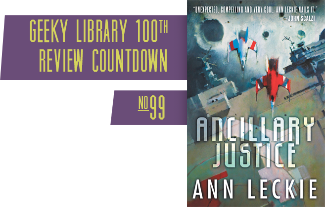 A Book Like This Wasn T Going To Sit On The Shelf Until I D Finished It Our Review Of Ancillary Justice A Pkdaward Nom Ancillary Justice Justice Reading