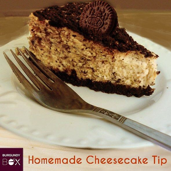 Do you feel that #cheesecake can be eaten only at restaurants? Now you can make a quick and easy cheesecake at home. Just use Paneer instead of cream cheese, and crushed oreo biscuits for the base and top. And enjoy your #DIY cheesecake!!! #HappinessIsHomemade #burgundybox #foodie