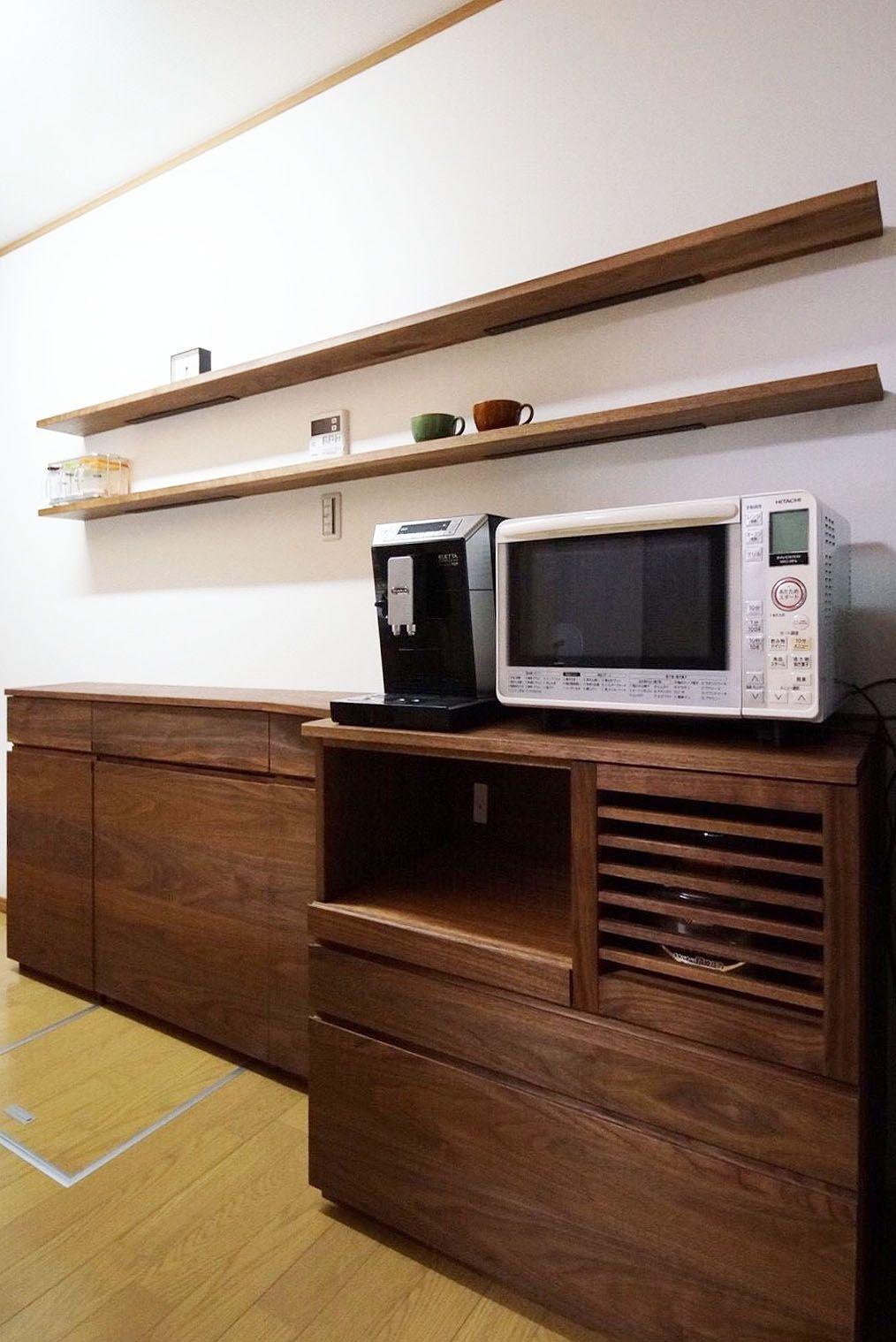 オーダー家具 食器棚カップボード 関西 京都 カップボード 食器棚 家具