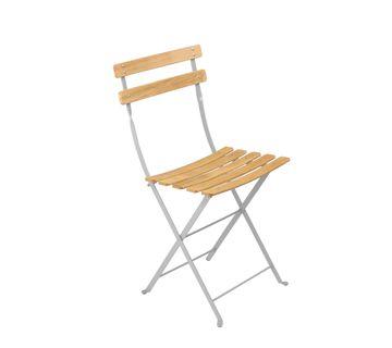 Chaise Naturel Bistro Chaise En Metal Et Bois Chaise Pliante Chaise Salle A Manger Chaises Classiques