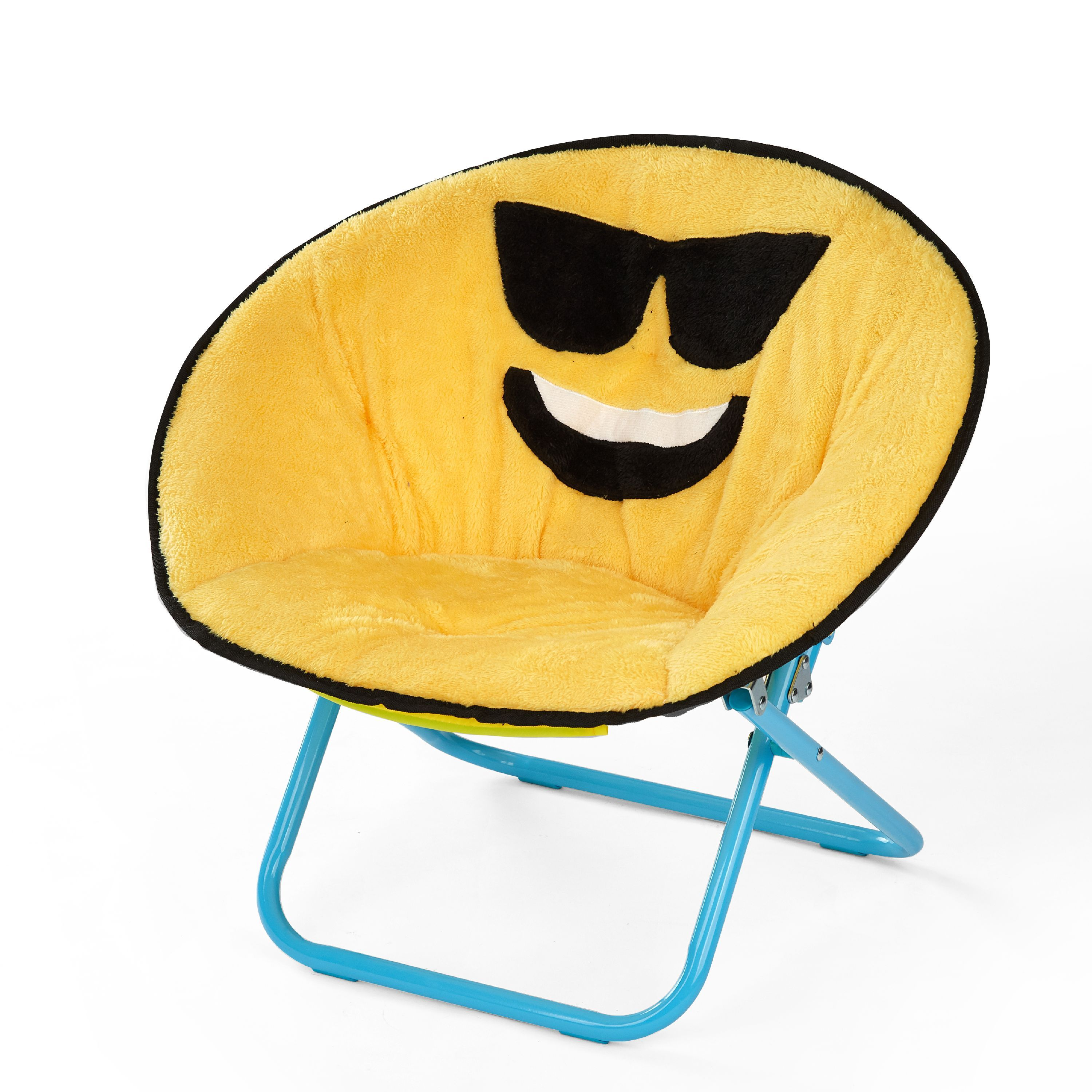 Emoji Pals Saucer Chair Walmart Com In 2020 Saucer Chairs Kids Chairs Chair