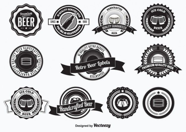 Beer Labels Vectors, Photos and PSD files | Free Download | logo