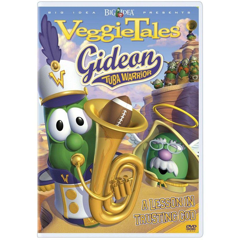 Gideon Tuba Warrior Veggietales Dvd Veggietales Veggietales Veggie Tales Tuba