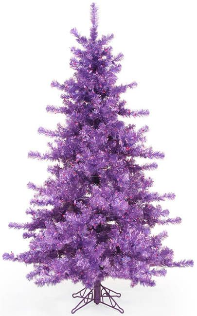 Purple Christmas Tree I Wish Nate Would Let Me Use This