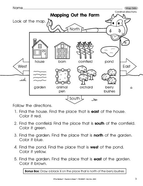 Social Studies Worksheet Map Skills The Mailbox Social Studies Worksheets Kindergarten Social Studies Map Skills Worksheets Kindergarten map activities worksheets