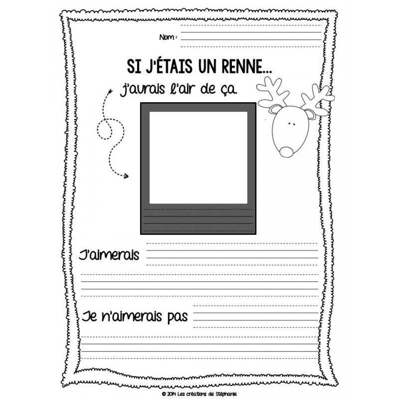 Trousse d 39 criture de no l ateliers pour le fran ais teaching french french education et - Boule de noel en anglais ...