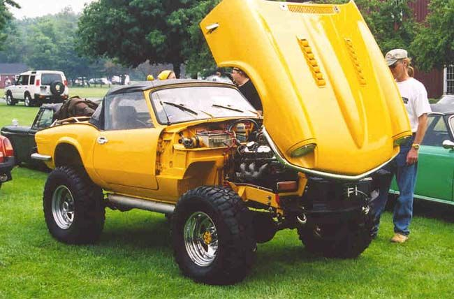 odd spitfire and gt6 photos in 2020 vehicles lifted cars triumph spitfire pinterest
