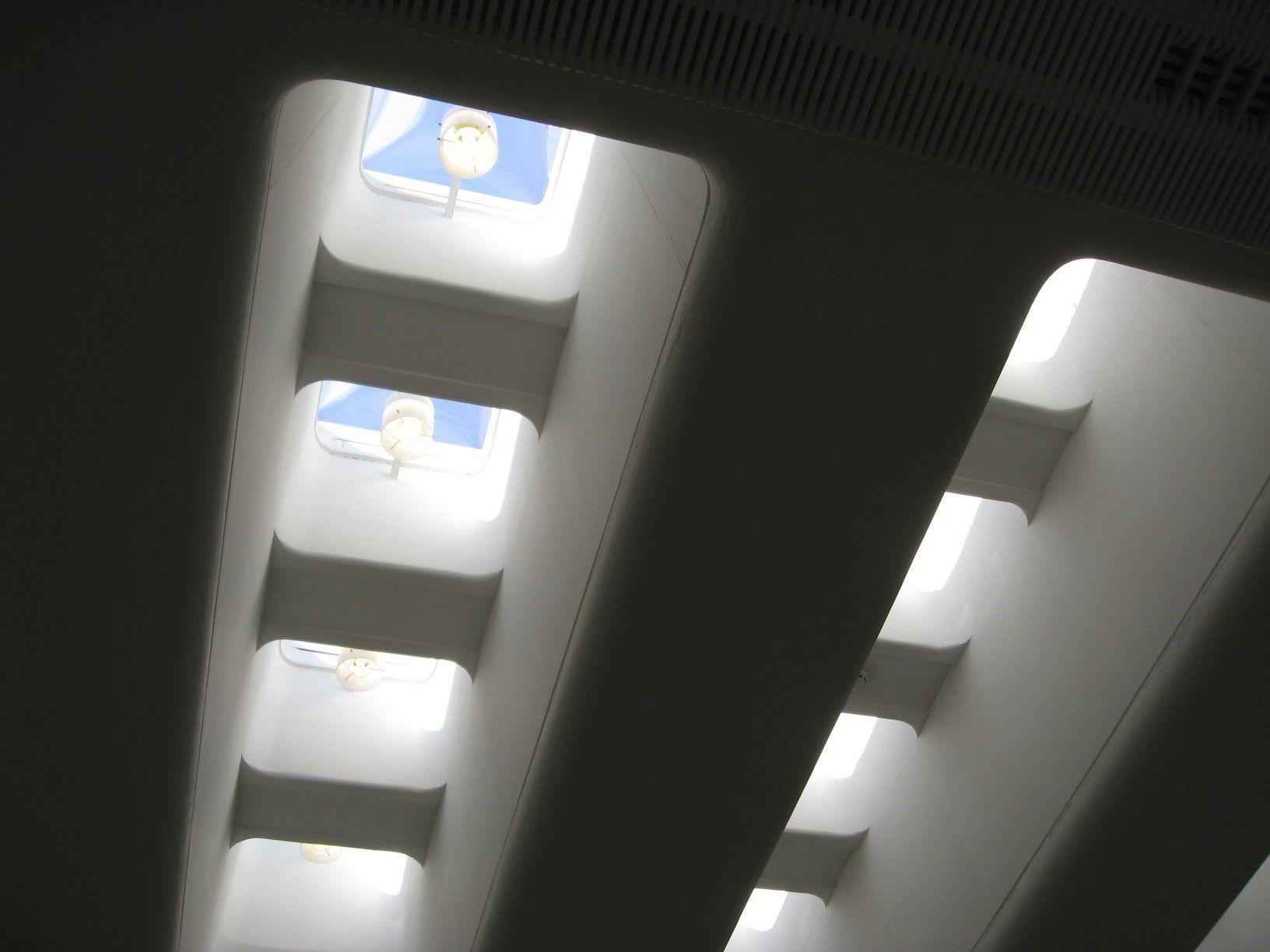 Skylights, Otaniemi Library, Finland Alvar Aalto, Architect