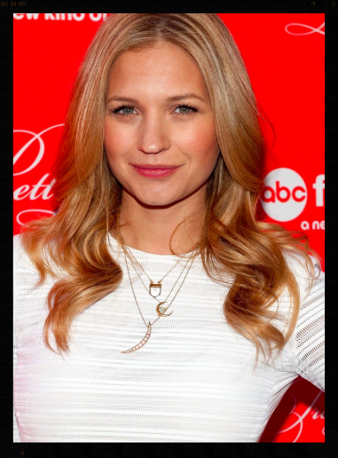 Vanessa Ray at the Pretty Little Liars Finale Wearing Necklaces from The One I Love NYC.