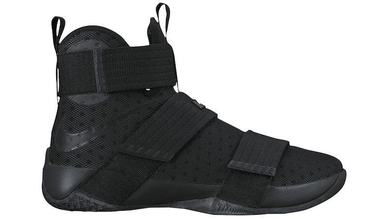 reputable site e4b1b 0f836 The Nike LeBron Zoom Soldier 10 Black Space Debuts Next Month
