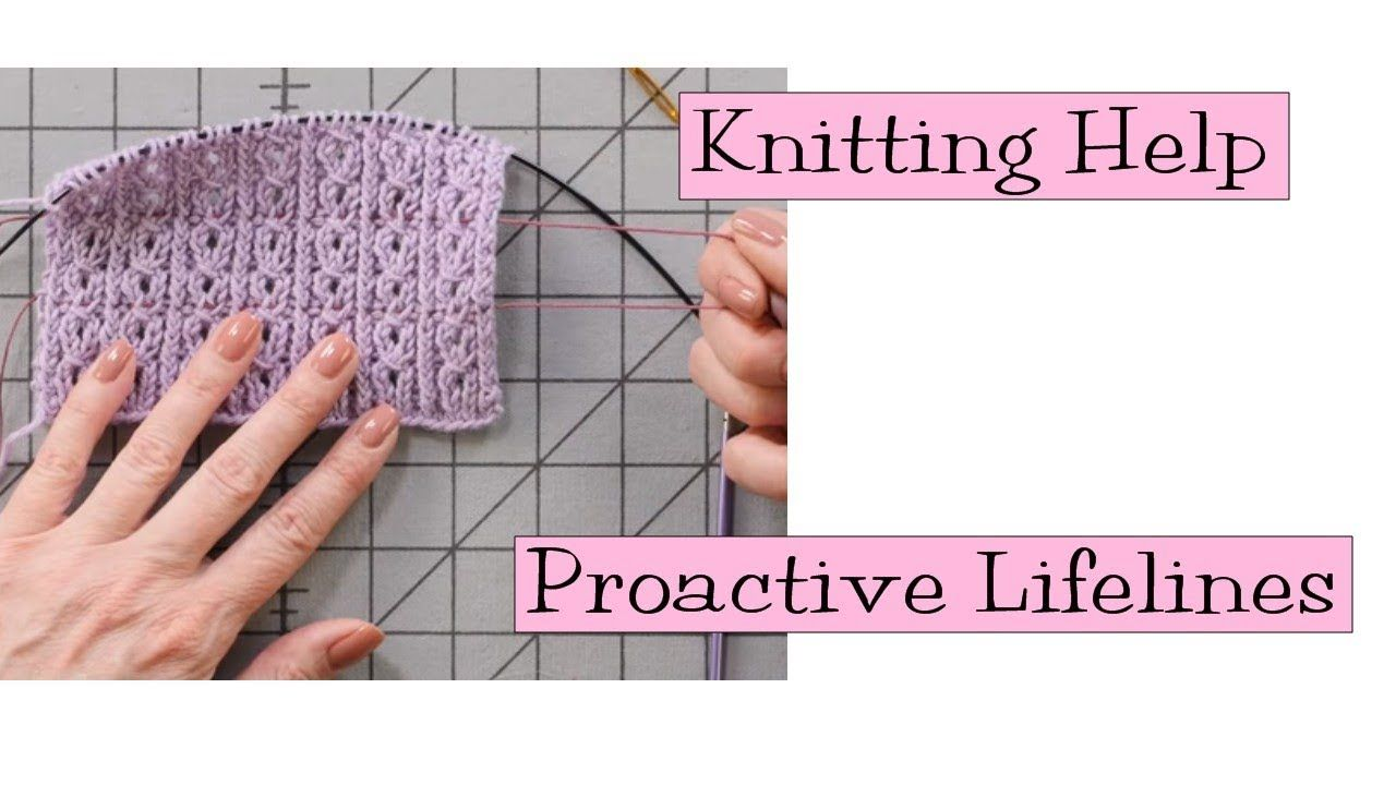 No need to be afraid of complicated stitch patterns ...