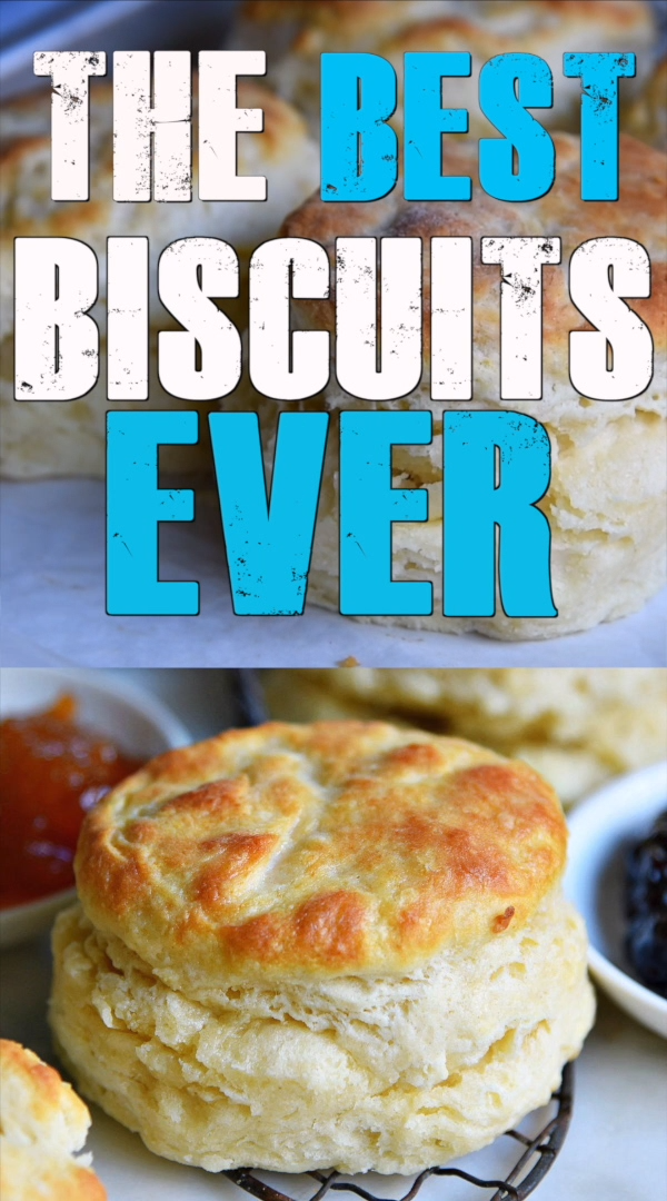 The BEST Homemade Biscuit recipe you'll ever try! These easy, homemade biscuits are soft, flaky, made completely from scratch and can be on your table in about 15 minutes! A weekend staple in our house! // Mom On Timeout #biscuit #biscuits #homemade #fromscratch #breakfast #brunch #recipe #recipes #momontimeout #baking