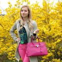 Sweet pink lady  , Burberry in Trenches, Zara in Pants, Zara in Oxfords / Derbies, Zara in Shirt / Blouses, Siena Style in Bags