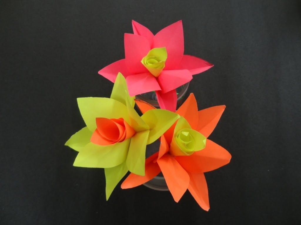 Paper Flower Tutorial How To Make A Paper Flower Paper Flower