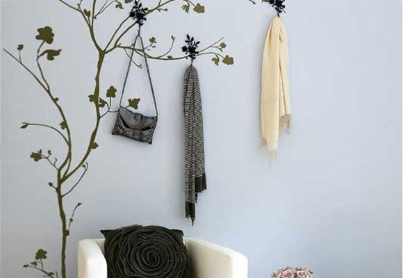 Paredes decoradas con estarcidos Paredes Pinterest Living - paredes decoradas