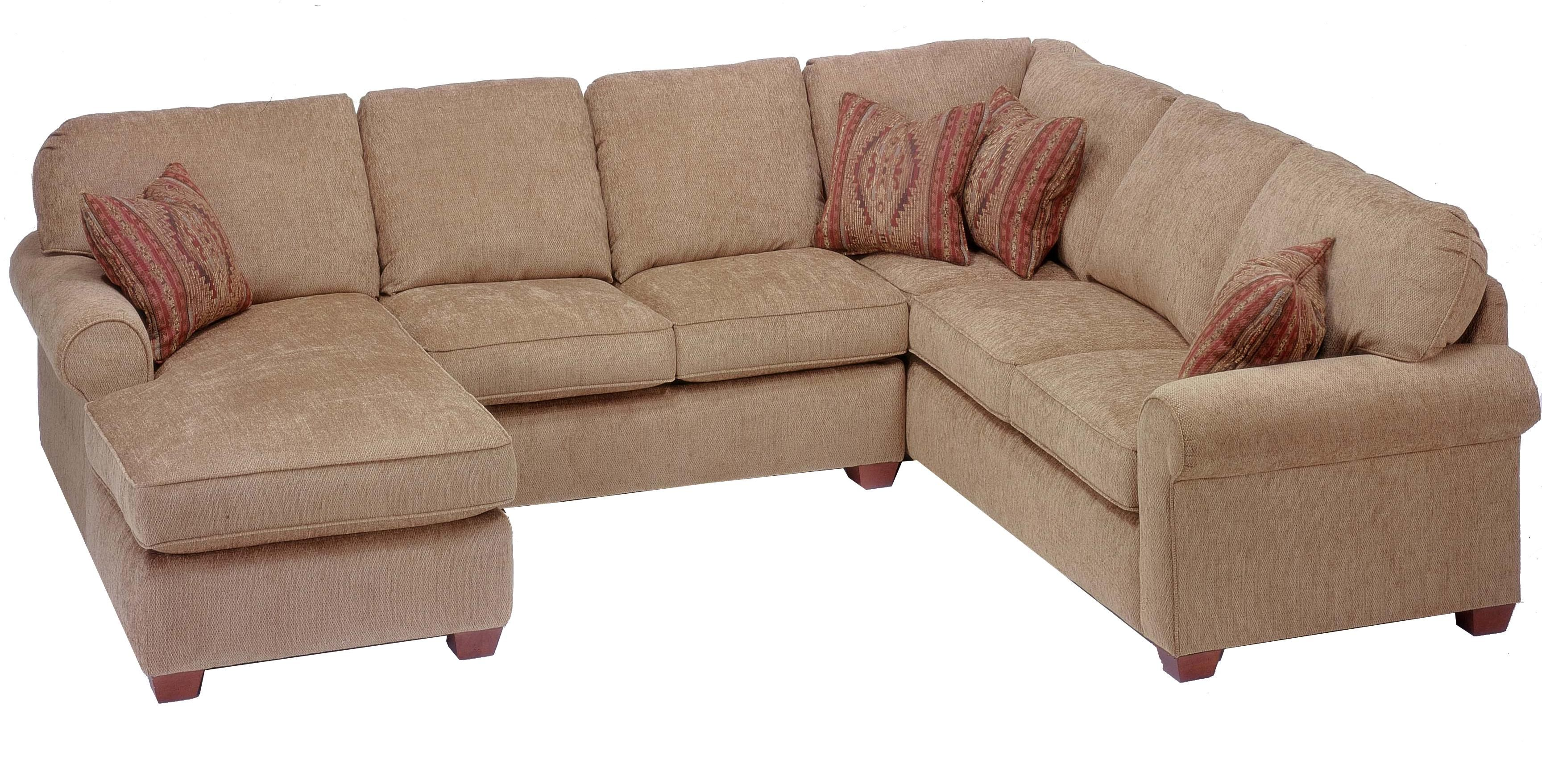 Best Thornton 3 Piece Sectional With Chaise By Flexsteel 400 x 300