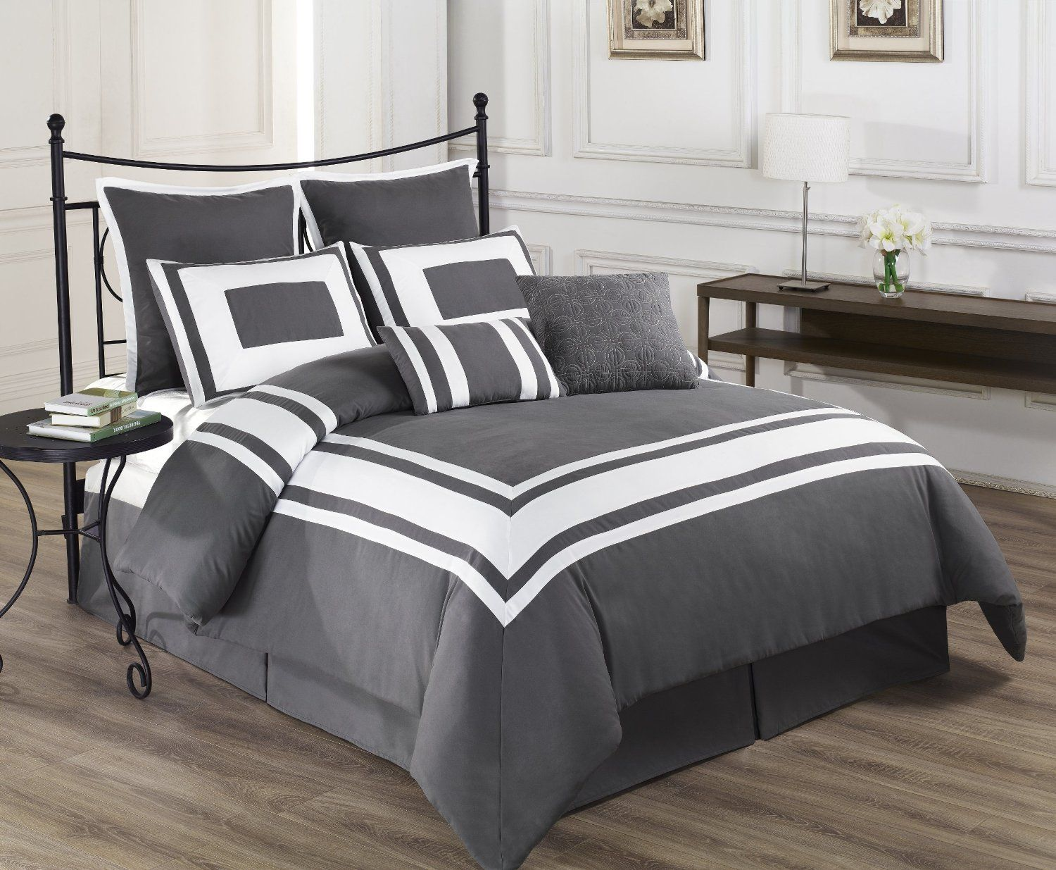 sale ideas sets charcoal delboutree design bedding dark bedrooms in gray decor grey set ease turquoise comforter regarding