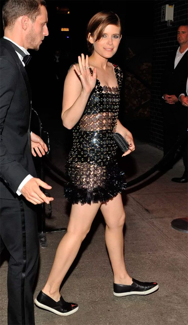 Street style look Kate Mara