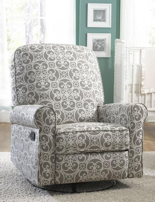 The Jordan Swivel Glider Recliner Offers Outstanding Comfort And Styling.  Soft, Easy To Clean
