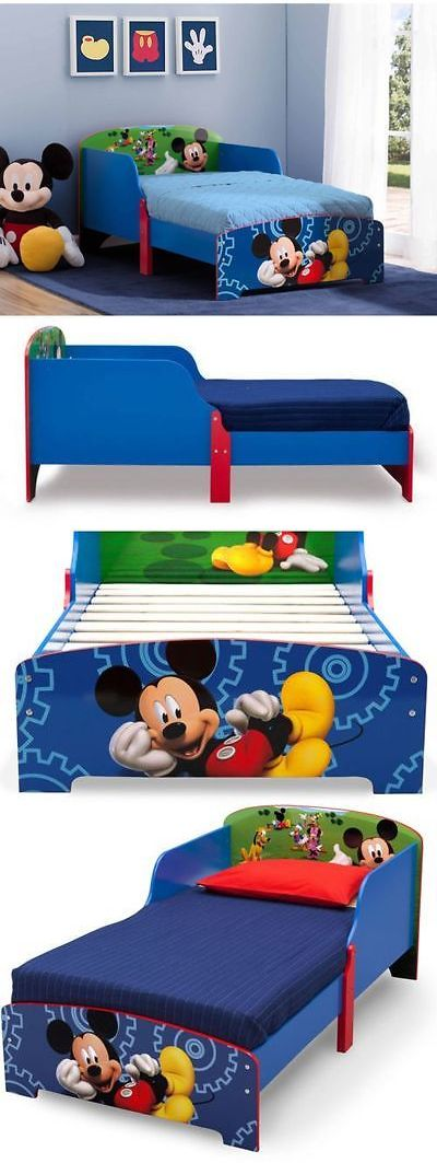 Kids at Home Disney Mickey Mouse Wood Toddler Bedroom Furniture