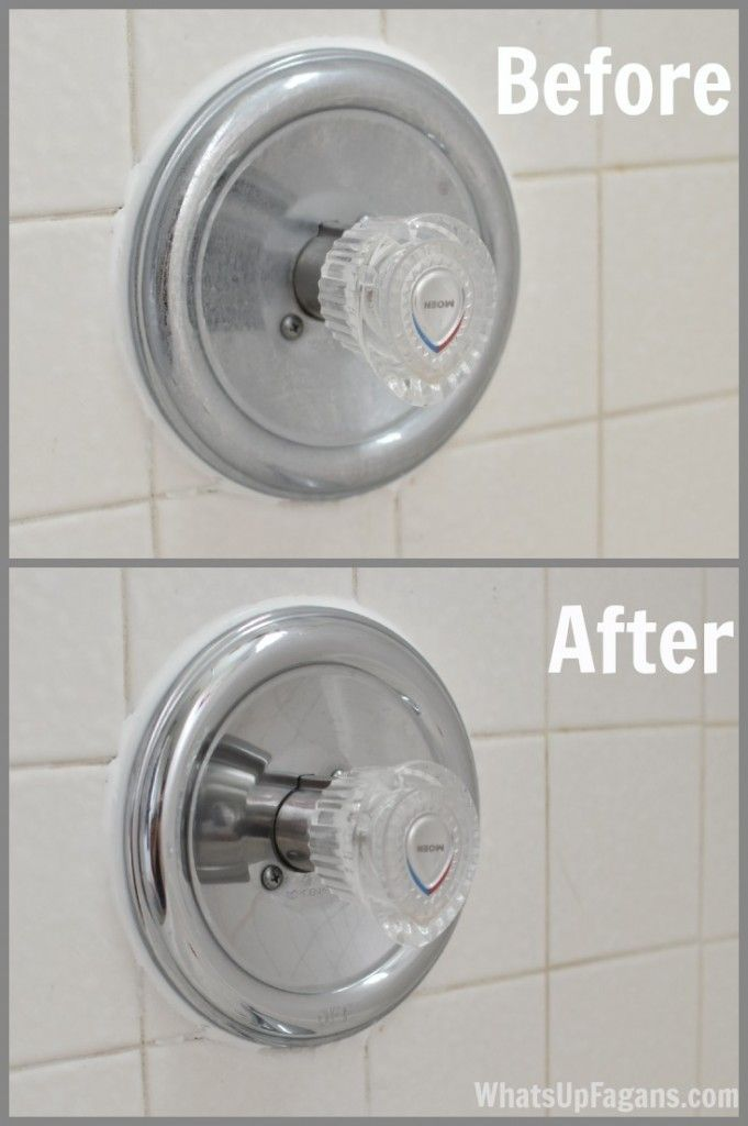 The Cheap Easy Way to Get Your Faucet Shiny Again | Faucet, Crafty ...